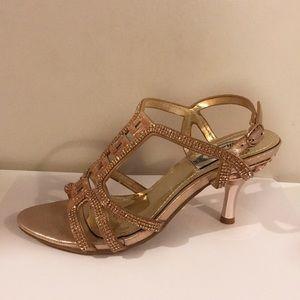 Shoes - Halina | Rose Gold Heels